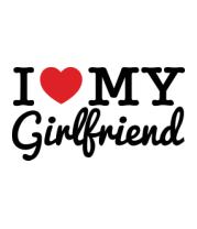 Футболка поло мужская I love my girlfriend