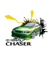 Женская майка борцовка Toyota Chaser full color