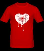 Мужская футболка  Разбитое сердце