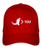Бейсболка Godzilla is Greater Than You
