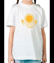 Детская футболка  Герб Казахстана
