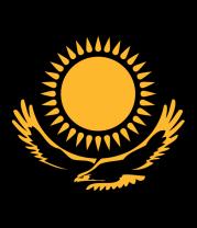 Женская майка борцовка Герб Казахстана