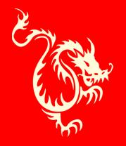 Детская футболка  Китайский водяной дракон (свет)