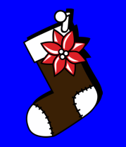 Мужская футболка с длинным рукавом Носок для подарков