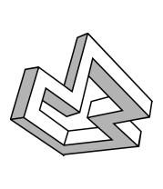 Коврик для мыши Оптическая иллюзия