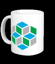 Кружка Кубики