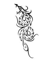Женская футболка с длинным рукавом Огненый дракон