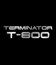 Женская майка борцовка Терминатор Т-800