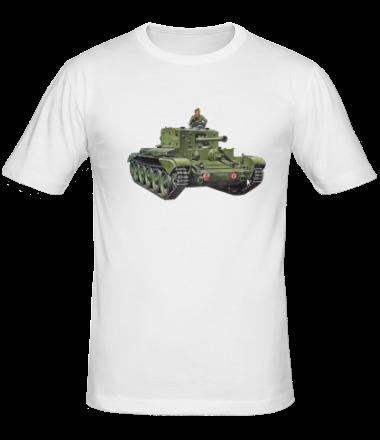 Мужская футболка  Танк Кентаур (Mk. VIII Centaur)