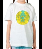 Детская футболка  Казахстан герб