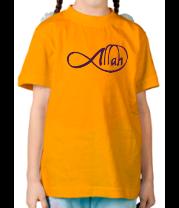Детская футболка  Allah infinite