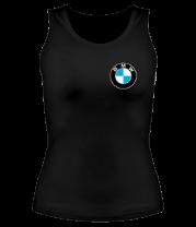 Женская майка борцовка Logo BMW