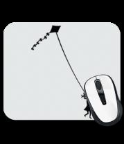 Коврик для мыши Девочка с воздушным змеем