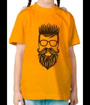 Детская футболка  Хипстер