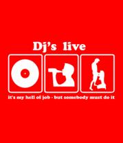 Мужская футболка  Dj's live
