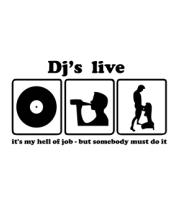 Коврик для мыши Dj's live