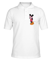 Футболка поло мужская Mickey Mouse