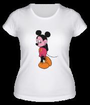 Женская футболка  Mickey Mouse