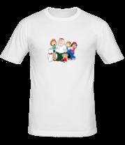 Мужская футболка   Гриффины (все)
