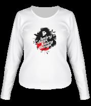 Женская футболка с длинным рукавом Hdht