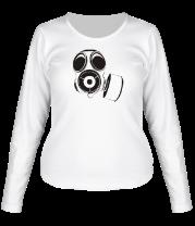 Женская футболка с длинным рукавом Gas music
