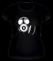Женская футболка  Gas music