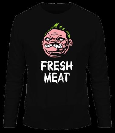 Мужская футболка с длинным рукавом Dota - Pudge Fresh Meat
