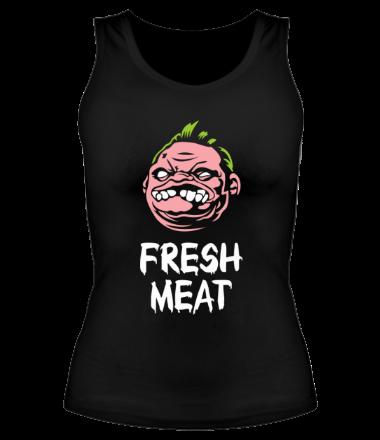 Женская майка борцовка Dota - Pudge Fresh Meat