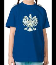 Детская футболка  Имперский орел (свет)