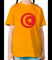 Детская футболка  Тунис