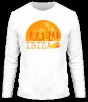 Мужская футболка с длинным рукавом Ibiza