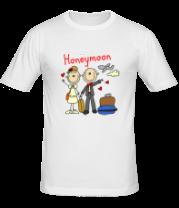Мужская футболка  Honeymoon