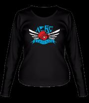 Женская футболка с длинным рукавом Aero friend