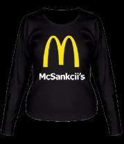 Женская футболка с длинным рукавом Мак Санкции