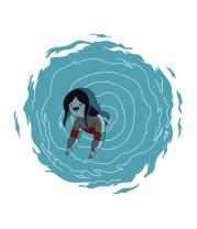 Мужская майка Marceline in portal