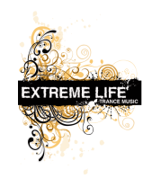 Мужская футболка  Extreme life ( trance music )
