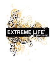 Женская футболка с длинным рукавом Extreme life ( trance music )