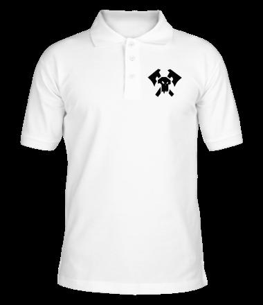 Футболка поло мужская Орки (Orks)