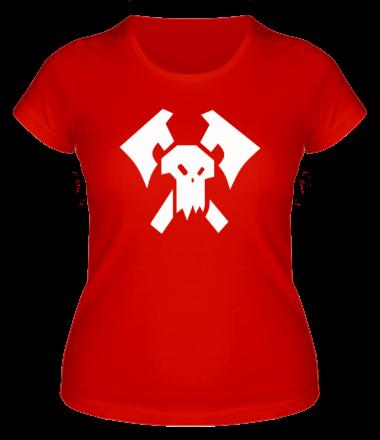 Женская футболка  Орки (Orks)