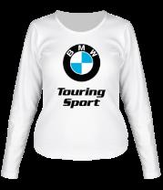 Женская футболка с длинным рукавом BMW Touring Sport