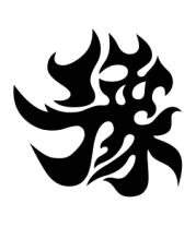 Мужская майка Японский иероглиф - Счастливчик