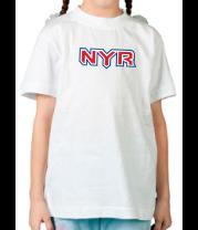 Детская футболка  HC New York Rangers Sign