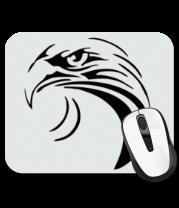 Коврик для мыши Тату - взгляд орла