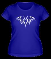 Женская футболка  Бэтмен - татуировка
