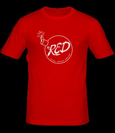Мужская футболка  RED Team