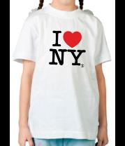 Детская футболка  I love NY Classic