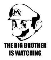 Женская майка борцовка Mario Big Brother