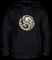 Толстовка Символ дракона (свет)