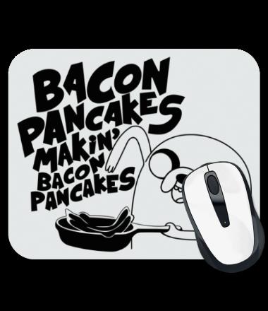 Коврик для мыши Jake - Bacon pancakes