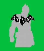 Женская футболка  Бэтмен - силуэт